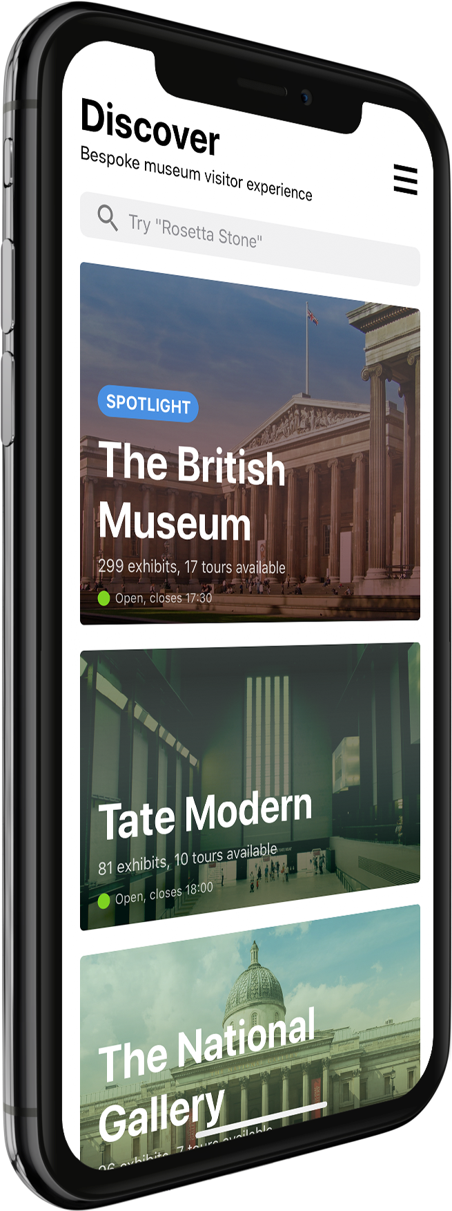 Make the most of your museum visiting experience. Download Aura now for free
